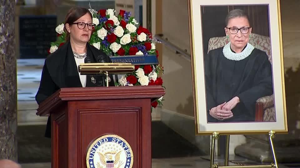 Ginsburg was 'our North Star' -rabbi