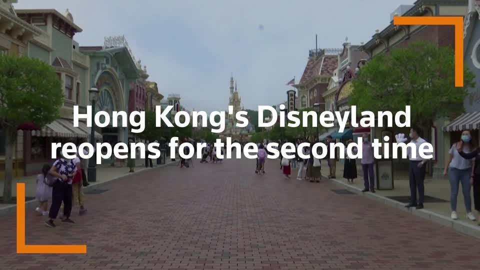 Hong Kong Disneyland reopens for second time