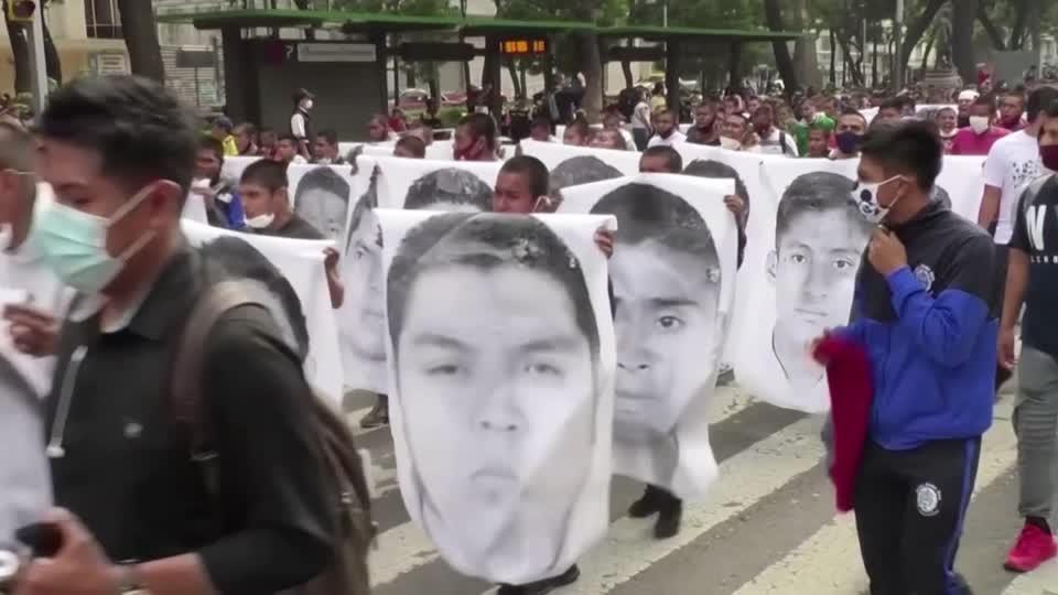 Warrants issued as Mexico remembers 43 students
