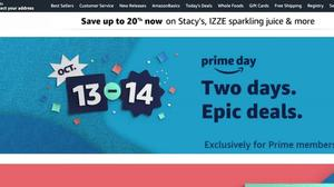 Amazon to hold Prime Day on October 13-14