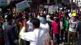 インドでカースト最下層の女性が暴行死、警察の無断火葬に国民激怒(字幕・30日)