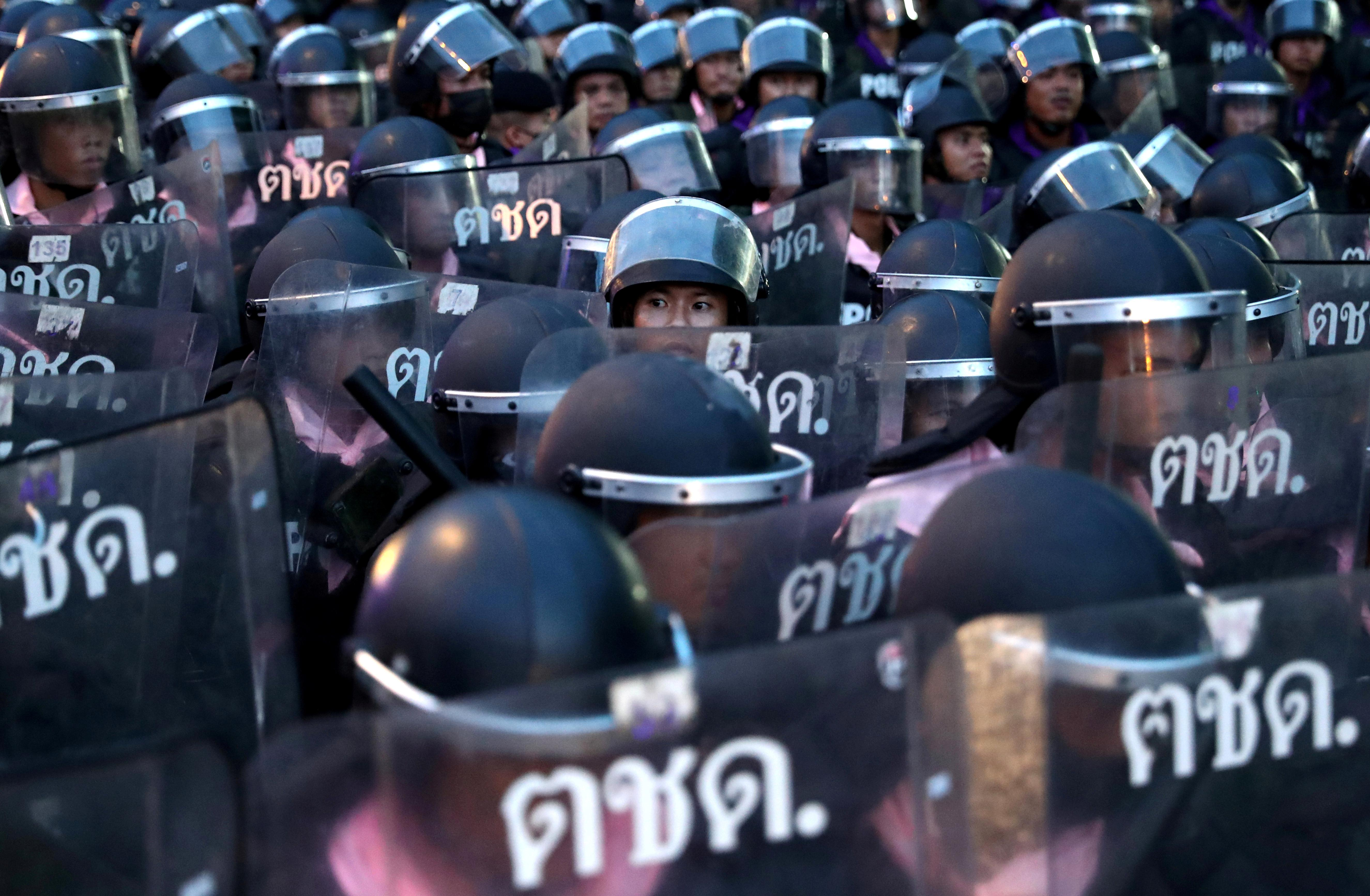 Thailand's ban on protests sparks more protests