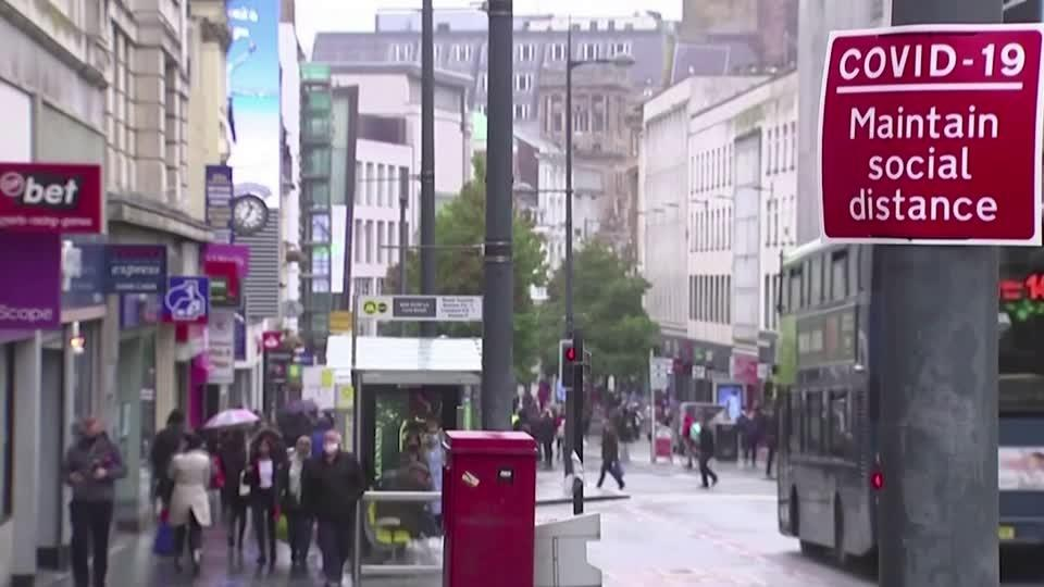 More of UK put into highest lockdown tier