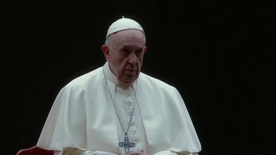 Civil union laws should cover homosexuals: Pope