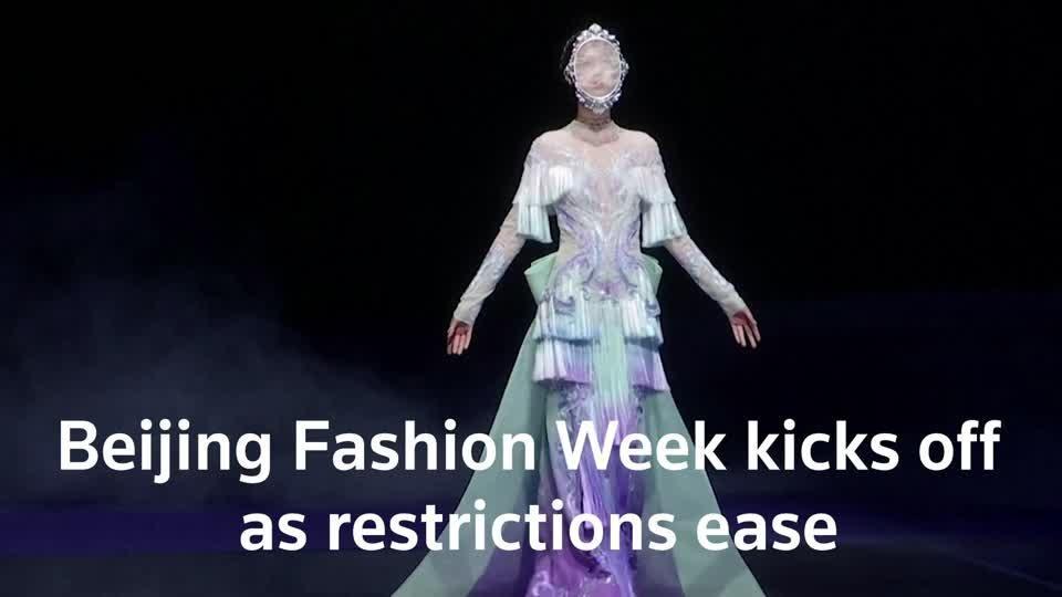 China Fashion Week kicks off as restrictions ease