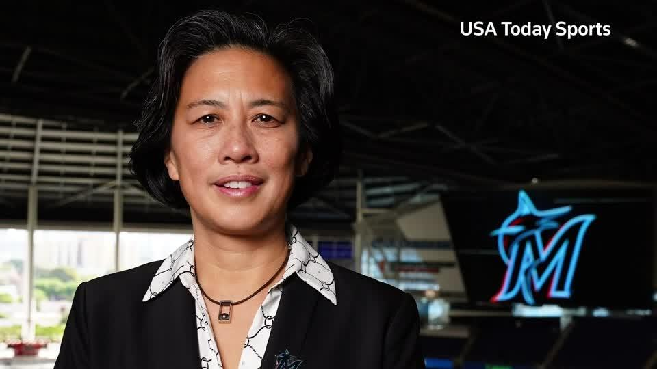 'It feels amazing' - MLB's first female GM