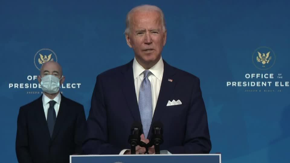 'America is back': Biden introduces team to world