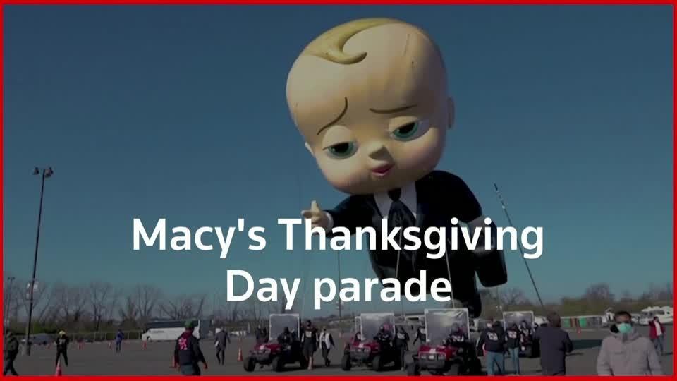 Macy's socially-distanced Thanksgiving Day parade