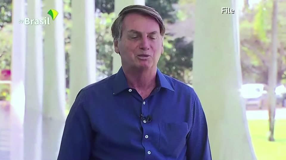 Brazil's Bolsonaro says he won't take vaccine