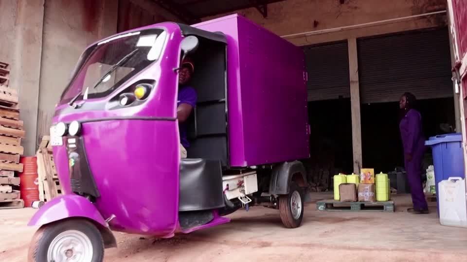 A new breed of tuk tuks hits Uganda's streets