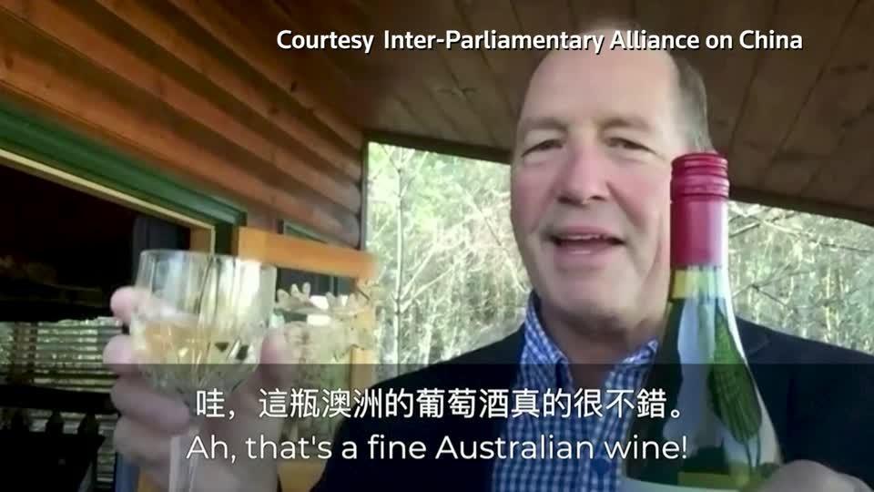 Politicians urge people to buy Australian wine