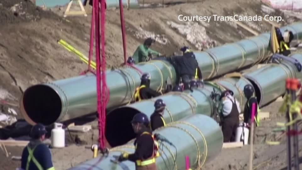 Biden to end Keystone pipeline early: source