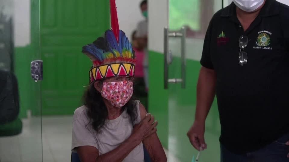 Brazil begins COVID-19 vaccine drive in Amazon