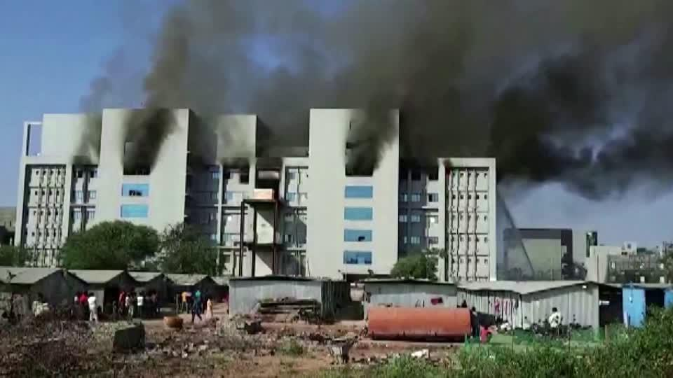 Fire hits one of world's largest vaccine makers