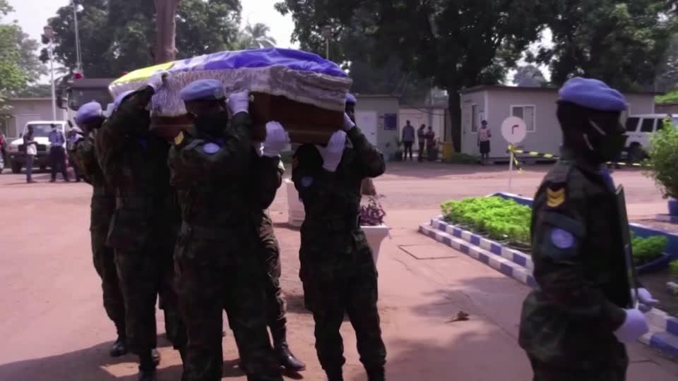 Ceremony honors UN peacekeepers killed in CAR
