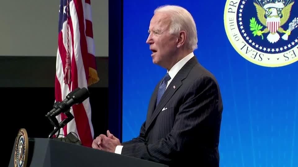 Biden signs 'Buy American' order