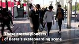 Basra youth explore the city on skateboards