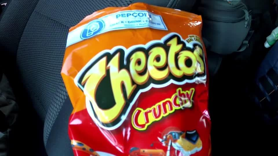 Cheetos in woman's teeth lead to burglary arrest