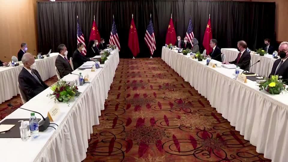 U.S., China conclude 'tough' talks in Alaska
