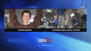 'Station, this is Shawn Mendes': ISS gets special Earth Day guest