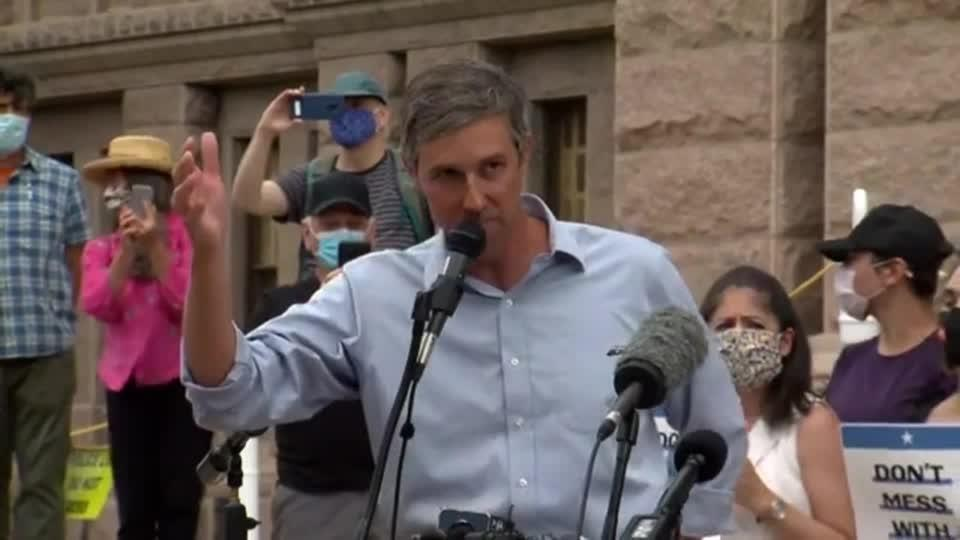 O'Rourke slams 'jokers' for passing voting limits in Texas