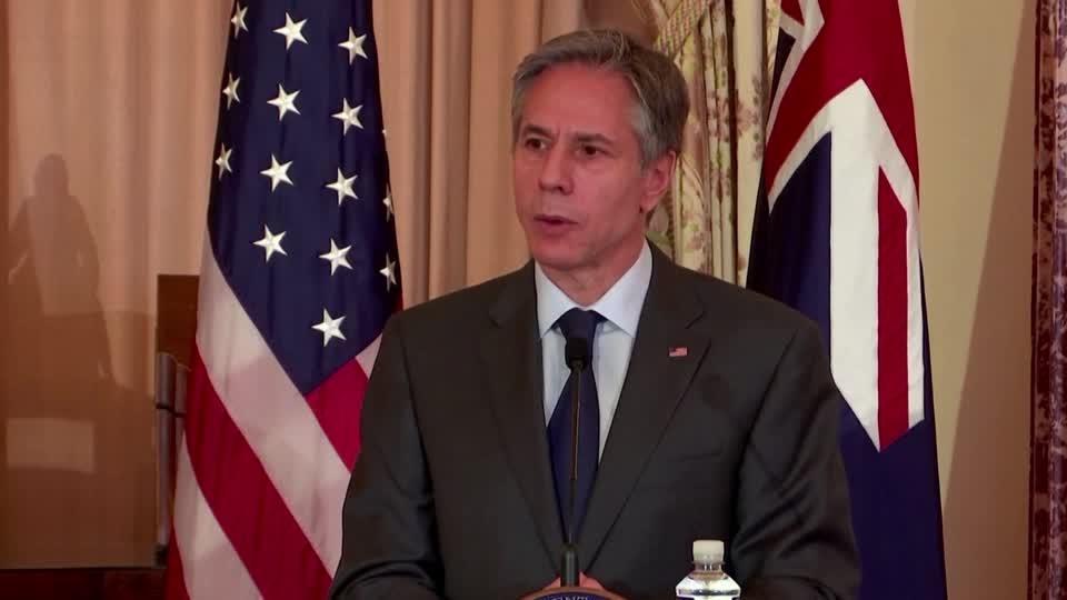 U.S. will not leave Australia to China: Blinken
