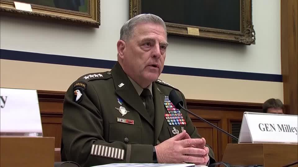 'It is important': Gen. Milley on critical race theory