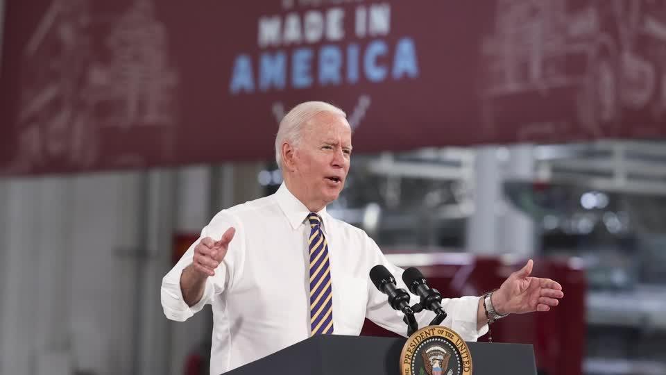 Biden hails bipartisan infrastructure deal