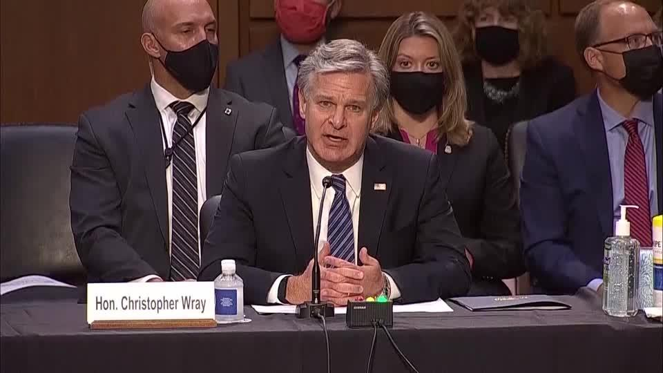 Wray 'profoundly sorry' for FBI's mishandling of Nassar case