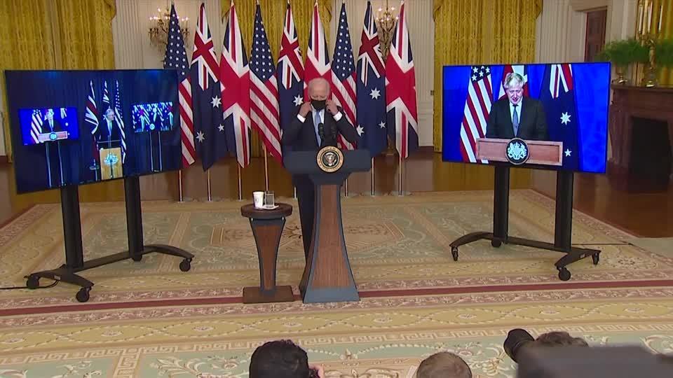 U.S., Britain, Australia announce new security partnership