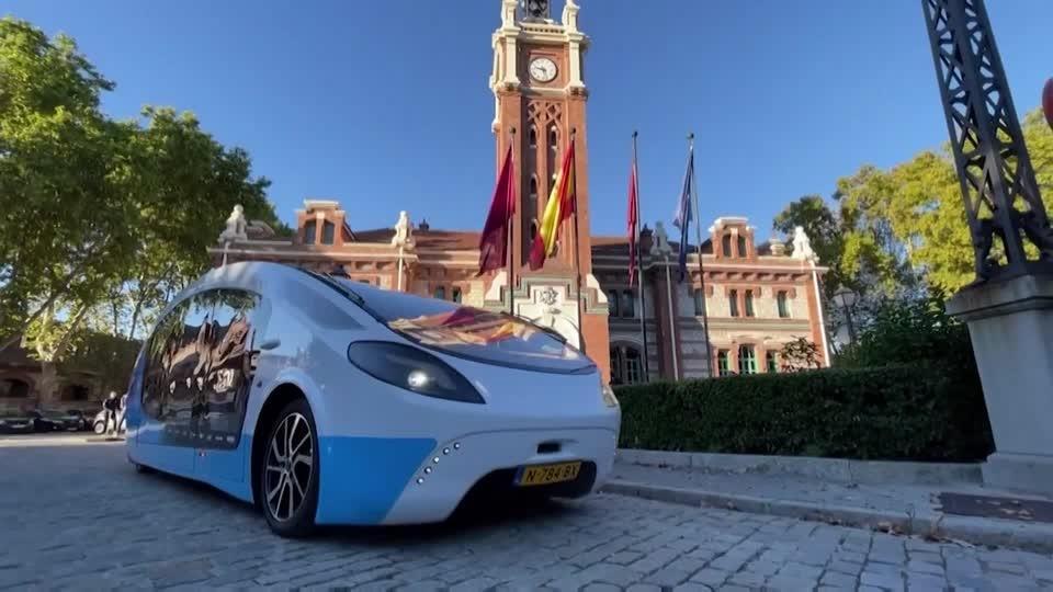 Solar-powered motorhome promotes sustainability across Europe
