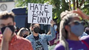 Protesters denounce Netflix over Chappelle comments