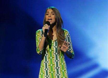 ''American Idol'' contestant Antonella Barba in a photo courtesy of Fox. Fans of TV's most popular program on Thursday gave their backing to the female contestant purportedly shown in some X-rated Internet photos, voting to keep her on the show. REUTERS/FOX/Frank Micelotta/Handout