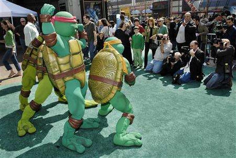 Tired Turtles Return In Tmnt Reuters
