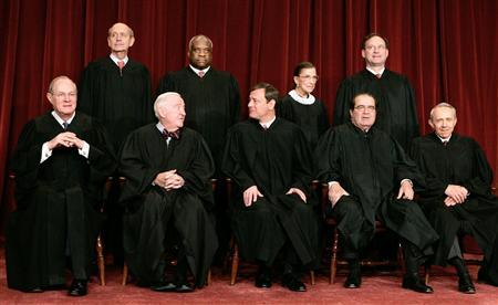 An analysis of the hands of a united states supreme court