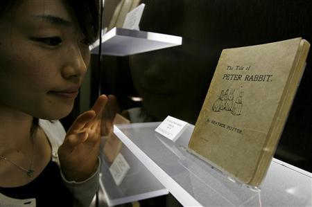 Japan uncovers oldest translation of Peta Rabbit - Reuters