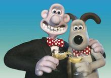 <p>Os personagens Wallace e Gromit, da Dreamworks. A dupla vai aparecer num novo curta, o primeiro desde seu longa-metragem animado ganhador do Oscar Photo by $Byline$</p>