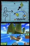 <p>Tela do jogo 'Legend of Zelda: The Phantom Hourglass', para o portátil Nintendo DS. A Nintendo retrabalhou uma de suas franquias de maior sucesso, 'Zelda', e a desenhado para um público de jogadores mais amplo que o tradicional da série. Photo by Reuters (Handout)</p>