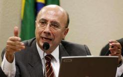 <p>O presidente do Banco Central, Henrique Meirelles, fala durante audiência congregacional, em Brasília. Photo by Jamil Bittar</p>