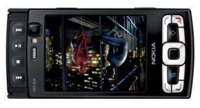 <p>Nokia distribui celular N95 com 8 gigas de memória. A Nokia anunciou nesta segunda-feira que começou a distribuir uma nova versão do celular topo de linha N95 com 8 gigabytes de memória e uma bateria com duração maior. 15 de outubro. Photo by Reuters (Handout)</p>