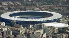 <p>Imagem aérea do estádio do Maracanã, no Rio de Janeiro. O Brasil foi considerado pela comisso de inspeo da Fifa como 'a escolha apropriada a sediar a Copa do Mundo de 2014', tendo mostrado 'potencial para ser mais do que capaz de realizar uma Copa do Mundo excepcional', de acordo com relatrio divulgado na semana passada. Photo by Bruno Domingos</p>
