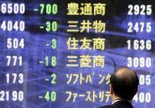 <p>As bolsas de valores da Ásia sofreram forte queda nesta quarta-feira, pressionadas por notícias negativas sobre a economia dos Estados Unidos que fizeram o dólar cair para mínimas históricas e puxaram bônus governamentais. Photo by Yuriko Nakao</p>