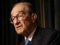 <p>Greenspan: Flexibilidade reduz chances de recessão nos EUA. O ex-chairman do Federal Reserve Alan Greenspan afirmou nesta sexta-feira que as chances de uma recessão nos Estados Unidos poderiam estar acima de 50 por cento não fosse a flexibilidade da economia do país. 23 de novembro. Photo by Yuri Gripas</p>