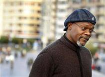 "<p>Samuel Jackson poses during a photocall to promote the movie ""Cleaner"" directed by Renny Harlin on the eighth day of the San Sebastian Film Festival September 27, 2007. REUTERS/Vincent West</p>"