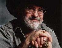 <p>British fantasy and science fiction author Terry Pratchett is seen in an undated handout photo. Pratchett, 59, has been diagnosed with a rare form of early onset Alzheimer's disease, he said in a statement to his fans. REUTERS/Handout</p>