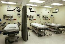 <p>Hospital beds are seen in a 2006 file photo. Medical science and religion clashed this week over whether to switch off life-support equipment that is keeping an 84-year-old man alive in a Canadian hospital. REUTERS/Lee Celano</p>