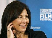 """<p>Catherine Keener smiles during the news conference for """"Into the Wild"""" at the 32nd Toronto International Film Festival September 9, 2007. REUTERS/ Mike Cassese</p>"""