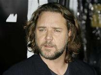 """<p>File photo shows actor Russell Crowe poses at the Los Angeles premiere of his new film """"American Gangster"""" in Hollywood, California October 29, 2007. REUTERS/Fred Prouser</p>"""