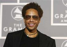 """<p>Actor Gary Dourdan of """"CSI: Crime Scene Investigation"""" arrives at the 49th Annual Grammy Awards in Los Angeles February 11, 2007. Two """"CSI"""" reruns rendered Thursday's reality battle among Fox, NBC and ABC somewhat moot, as CBS won all three hours in viewership and adults 18-49. REUTERS/Mario Anzuoni</p>"""