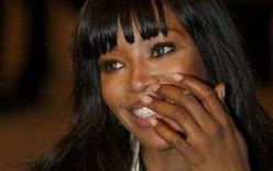 <p>British model Naomi Campbell arrives for the Chanel 2007/2008 collection fashion show in central London December 6, 2007. Campbell, in Cuba seeking an interview with Fidel Castro in her new role as political reporter, visited homes donated by Venezuela to Cuban workers on Friday. REUTERS/Toby Melville</p>